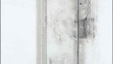 Door, Jersey City Studio, 2008 $4,000 21 x 12in.