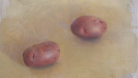 Potatoes, 2004 Oil on wood panel, 8 x 10 in. $2,800