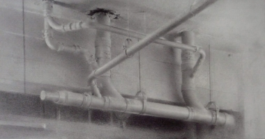 Ceiling Pipes, Charcoal