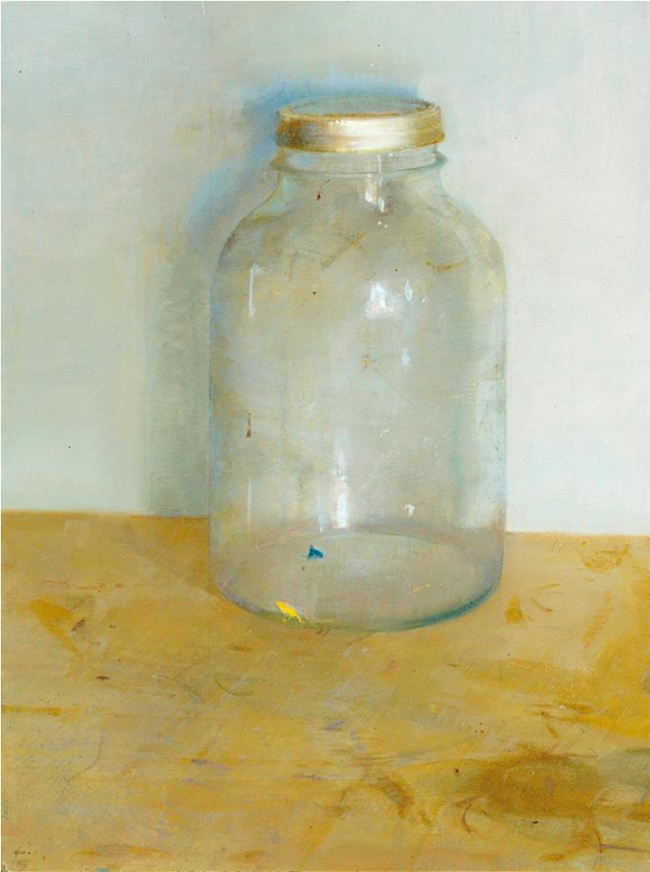 Christopher Gallego, American, b. 1959, 2001, Oil on board, 13 x 8 in., Sold