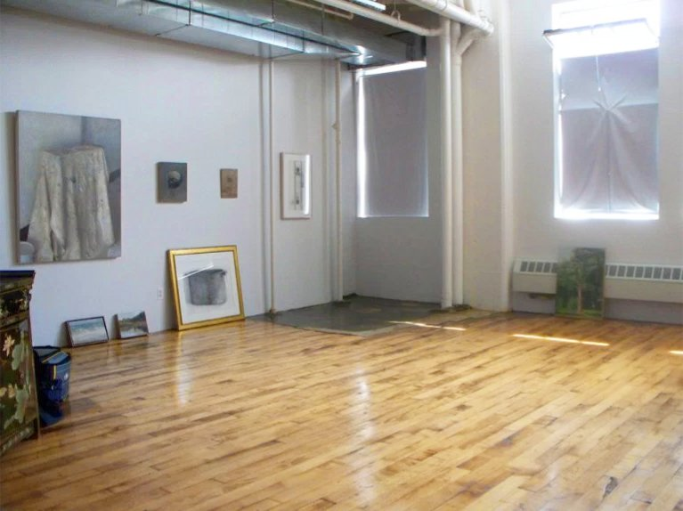 Christopher Gallego Painting Studio, Brooklyn, NY 2008-2009