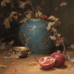 Christopher Gallego Blog | Featured Artist: Grace Mehan Devito | Image: Pomegranates and Vines